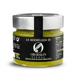 Oro Bailen mermelada picual, 150 gr. Caja 12 unidades.