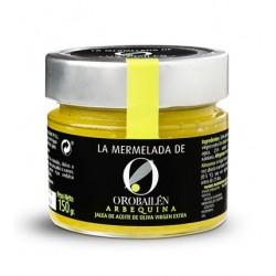 Oro Bailen arbequina Jam, 150 gr. Box 12 units.