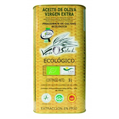 Verde Salud, can 5 l. Box 3 units.