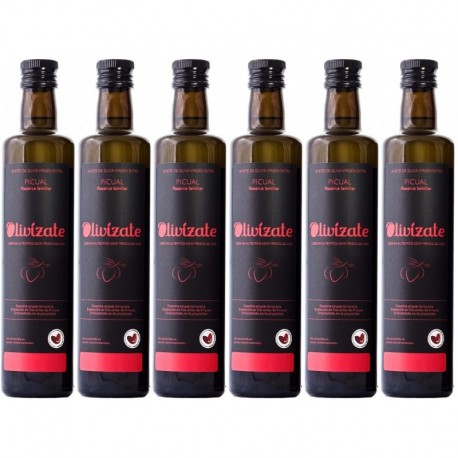 Olivízate picual, 500 ml. Box 6 units.