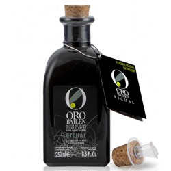 Oro Bailen Reserva Familiar PICUAL frasca 250 ml. Caja 24 unidades.