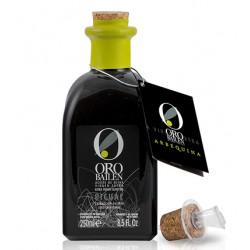 Oro Bailen Reserva Familiar ARBEQUINA glass bottle 250 ml. Box 24 units.