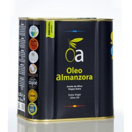Oleoalmanzora arbequina, 2,5 l.