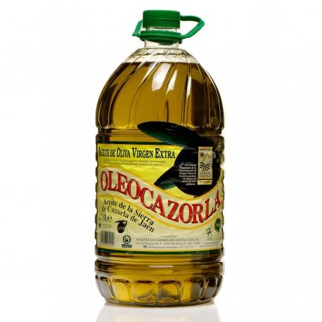 Oleo Cazorla, 5 l. Caja 3 unidades