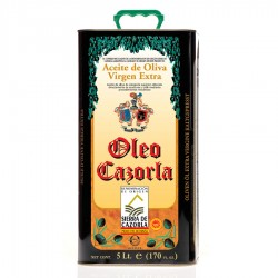 Oleo Cazorla, lata 5 l. Caja 4 unidades