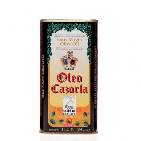 Oleo Cazorla, lata 1 l. Caja 12 unidades