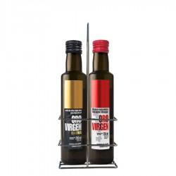 Oro Virgen Extra, aceite + vinagre, 250 ml. Caja 12 unidades