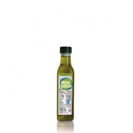 Aceites Mondrón verdial, pet 250 ml. Caja 15 unidades