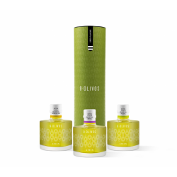 9 Olivos Green Flavours, case 3 X 200 ml.