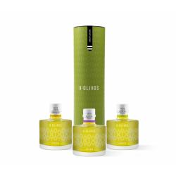 9 Olivos Green Flavours, estuche 3 X 200 ml.