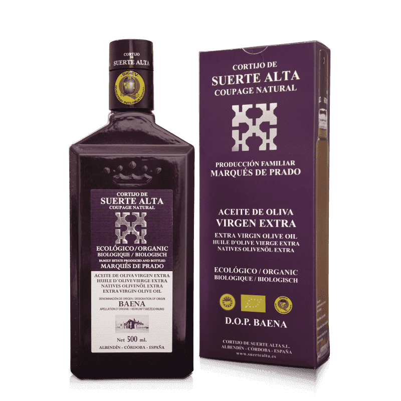 Cortijo de Suerte Alta, case Coupage Natural, 500 ml.