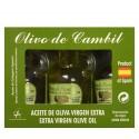 Olivo de Cambil, estuche 3 x 25 ml.