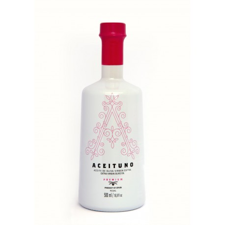 Aceituno, 500 ml. Special edition campaign against Cancer.
