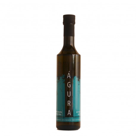Aove Águra Picual glass bottle 500 ml.