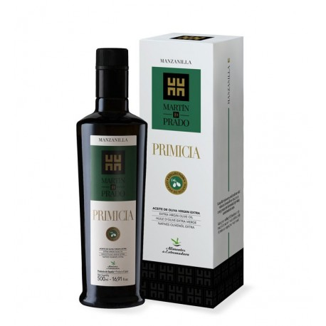 Martín de Prado Primicia manzanilla, gift case 500 ml. Box 3 units
