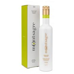 Montsagre Picual, estuche 500 ml.