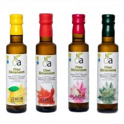Oleoalmanzora arbequina aromático, 250 ml. Caja 12 unidades.