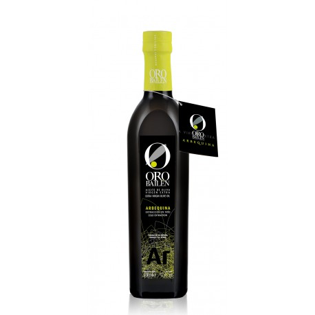 Oro Bailen Reserva Familiar ARBEQUINA, 500 ml.