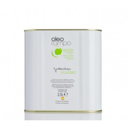 Oleocampo premium organic, 2,5 l. Box 4 units.
