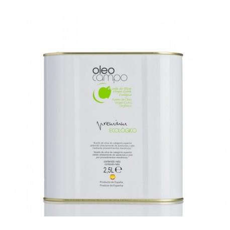 Oleocampo Premium ecológico, lata 2,5 l. Caja 4 unidades.