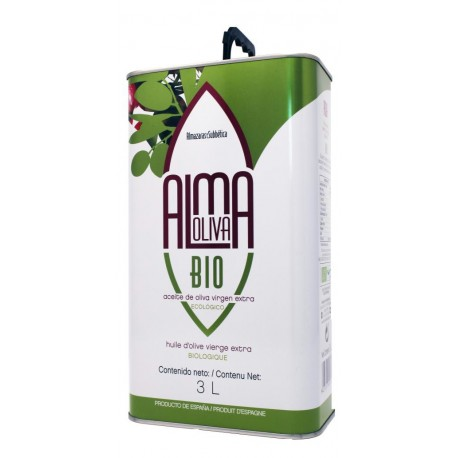 Almaoliva BIO, can 3 l. Box 4 units