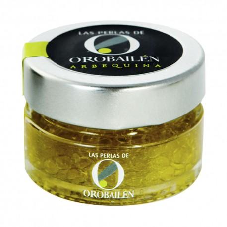 Oro Bailen Pearls ARBEQUINA 50 gr. Box 15 units.