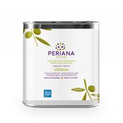 Aceite Periana, 2,5 l.  Caja 5 unidades.