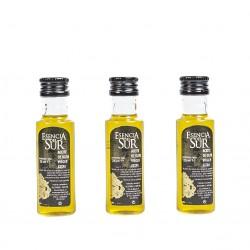 Esencia del Sur botella 25 ml. Caja 200 unidades.