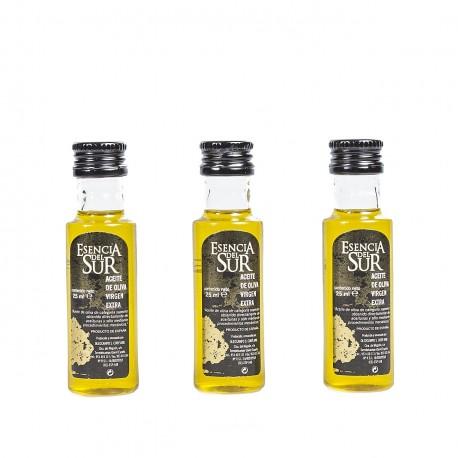 Esencia del Sur bottle 25 ml. Box 200 units.