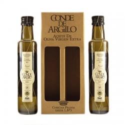 Estuche Conde de Argillo Malla Dorada 2 x 250 ml. Caja 6 unidades.