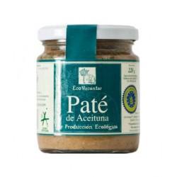 Paté of olives Eco Vizcántar jar 220 gr. Box 12 units.