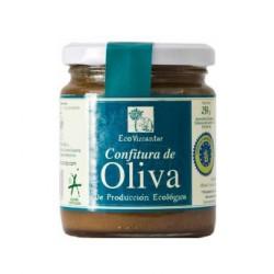 Jam of olives Eco Vizcántar Jar 250 ml. Box 12 units.