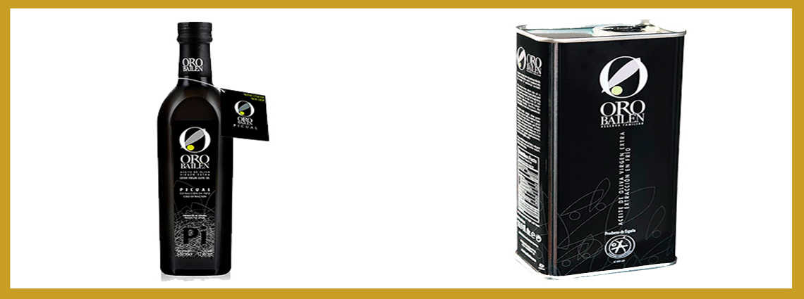 Oro Bailen Reserva Familiar Picual - Este aceite de oliva virgen extra está considerado uno de los mejores del mundo. De hecho, este año es uno de los ganadores de la cata concurso de Jaén selección 2019.