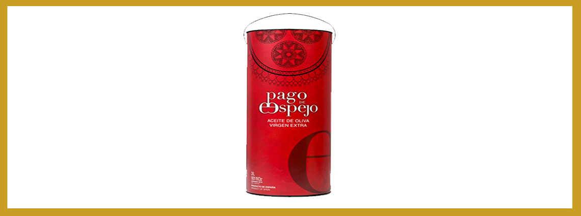 Pago de Espejo - Este exquisito aceite de oliva virgen extra está elaborado con recogida temprana con aceitunas Picual lo que le aporta un sabor característico inconfundible.