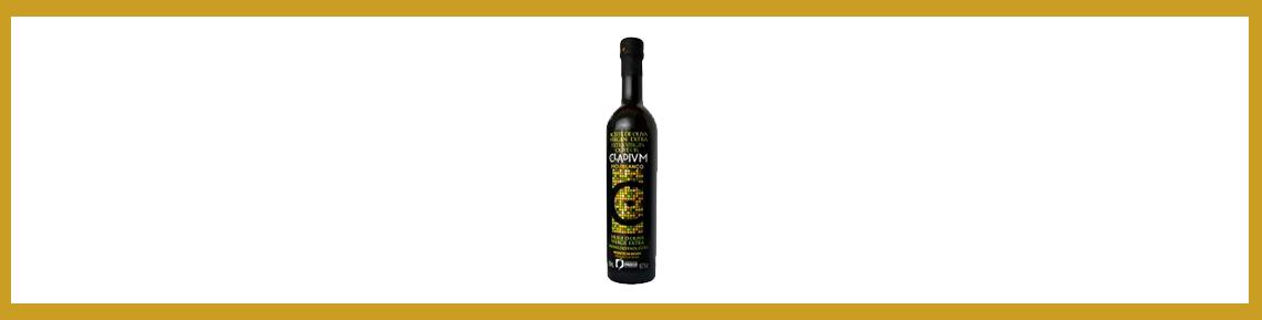 Botella de aceite de oliva hojiblanca